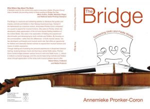 "Final Cover Design for Pronker-Coron Book ""The Bridge"""