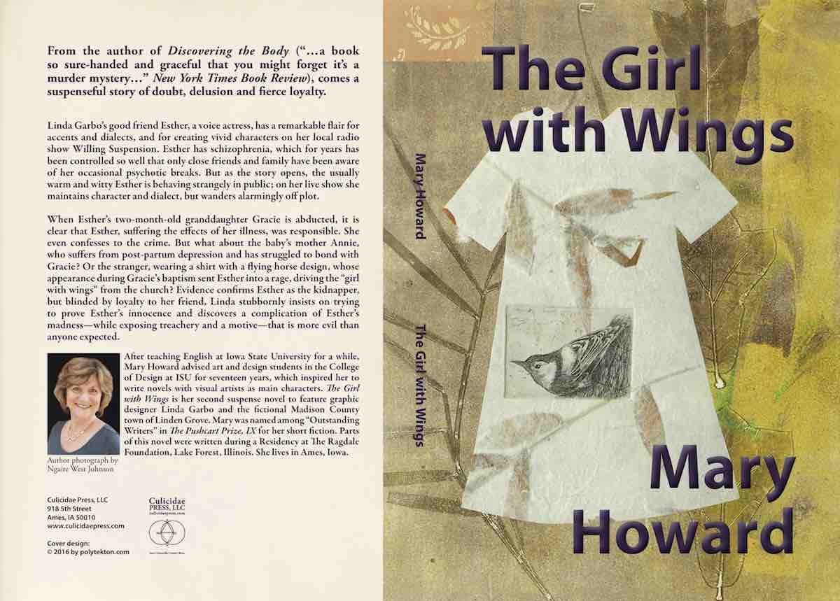 Draft Versions of Cover for Mary Howard's New Book