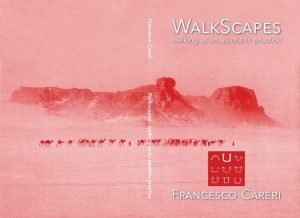 "Book Cover for Careri's ""Walkscapes"""