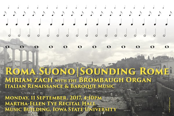 Poster Design for Sounding Rome