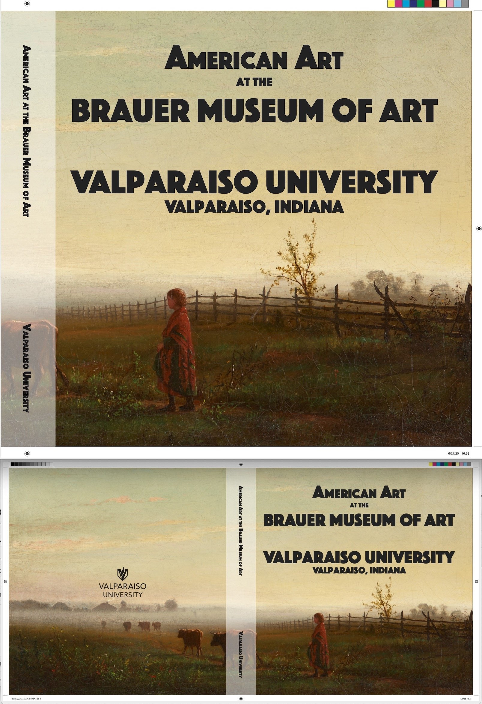 New Book Design for Valparaiso University