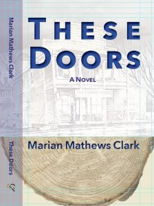Book Cover for Marian Clark's These Doors at Culicidae Press