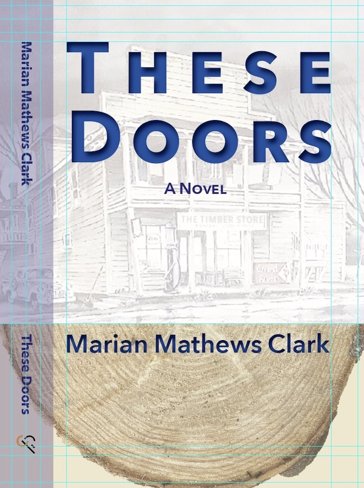 Read more about the article Book Cover for Marian Clark's These Doors at Culicidae Press
